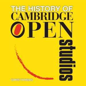 Book Cover The History of Cambridge Open Studios by Chris Thomas